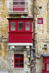 Malta; Valletta (drasphotography) Tags: windows architecture facade fenster malta architektur fassade valletta hausfront drasphotography