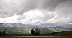 Himmelsdrama / Dramatic sky (schreibtnix on'n off) Tags: mountains travelling clouds landscape reisen kreta wolken berge greece crete griechenland landschaft archanes idamountains idagebirge olympuse5 schreibtnix