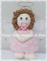 Anjinha (Nanne Baby Bonecas de Pano) Tags: infantil quarto festa menina decoração anjinha