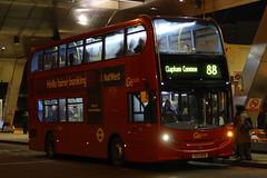 YX13 BKN, Vauxhall Bus Station, London, January 31st 2015 (Southsea_Matt) Tags: route88 goahead vauxhallbusstation enviro400 eh38 yx13bkn