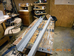 Hank Kennedy table saw project - diy guide rails 21