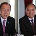 Ban Ki-moon, Secretary - General, UN and Houlin Zhao Secretary - General, ITU