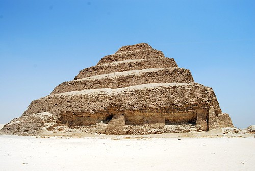 Step pyramid of Djoser in Saqqarah, Egypt