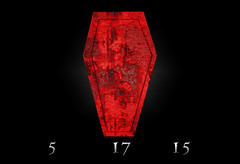 (Drummy ) Tags: art photoshop project symbol icon coffin crypticon drumrollstudios
