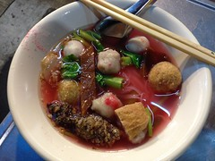 Yentafo (Ryo.T) Tags: thailand chinatown bangkok thaifood     yaowarat