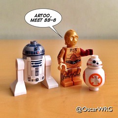 #LEGO #StarWars #LEGOstarWars #TheForceAwakens #TFA #BB8 #R2D2 #C3PO #Artoo #ArtooDeeToo #Threepio #SeeThreepio #BeeBeeAte #RedArm @starwars @lego_group @lego @bricksetofficial @bricknetwork @brickcentral (@OscarWRG) Tags: starwars lego r2d2 legostarwars c3po tfa threepio seethreepio artoo artoodeetoo bb8 redarm theforceawakens beebeeate