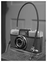 1959 (daveelmore) Tags: 1959 olympuspen olympus pen camera halfframecamera vintage cameraporn blackwhite bw manualfocus legacylens
