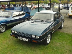 Ford Capri 280 D696AGY (Andrew 2.8i) Tags: 45th year anniversary ford capri brooklands weybridge surrey club show classic classics car hatch hatchback coupe 280 208 v6 cologne injection youngtimer all types transport worldcars