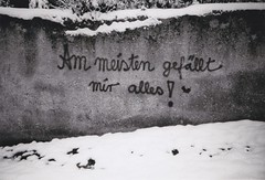 tbingen: the winter before last winter (Genusssucht) Tags: bw film lomolca lomo tbingen tuebingen winter snow