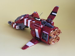 Taiidan Scout, rear side (zwitl) Tags: lego homeworld taiidan scout zwitl spaceship