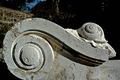 Stucco raffigurante lumaca (frederikagrey1) Tags: stucco lumaca casina civette torlonia