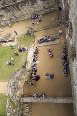 Bodiam castle, England (fillbee) Tags: bodiamcastle 14thcenturymoatedcastle sussex 1385 siredwarddalyngrigge knight quadrangularplan crenellations defensive defence fort moat water ducks national trust