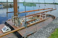 Selling the Fairy Queen (Jonathan Palfrey) Tags: photo digital photomatix exposurefusion landscape boat fairyqueen kinvarra galway connacht ireland