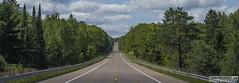 Endless Road (Danno KaBlammo) Tags: danny bourque michigan upper peninsula nature trees beauty art street road pavement endless