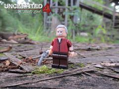 Victor Sullivan (AlienHunter143) Tags: lego victor sullivan custom minifigure uncharted4 alienhunter143