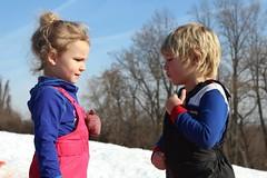 Snow babies (tatyanak2016) Tags: sledding cold cute snow children babies kids