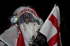 EDDIE LOVES ENGLAND! (Venvierra @ GothZILLA Photography) Tags: gothzillaphotography canon 600d canon600d eos canoneos canoneos600d eddie ironmaiden england ironmaidenseddie rugby flag mascot englandrugby