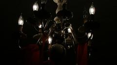 DSC01161 (trekkie313) Tags: lightbulb party chandelier muted color