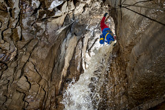 _DCP0001 (ChunkyCaver) Tags: water waterfall cave caving caver spelunking diccanpot