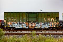 (o texano) Tags: houston texas graffiti trains freights bench benching duble kover rtd