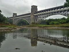 Menai 2 (Mike Kohnstamm) Tags: bridge anglesey menaistrait britanniabridge