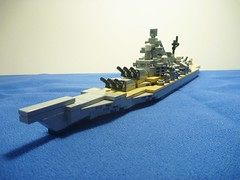 The last gunboat. (Navy Person) Tags: lego battleship