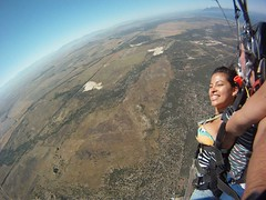"Skydiving in Cape Town... ca. 3000 meters (9000 ft) over sea level and 200kms/h speed. Nov 2014. South Africa #itravelanddance • <a style=""font-size:0.8em;"" href=""http://www.flickr.com/photos/147943715@N05/29531238984/"" target=""_blank"">View on Flickr</a>"