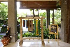 Lobby ornaments (A. Wee) Tags: sankara resort hotel  ubud bali  indonesia