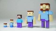 LEGO Herobrine (BRICK 101) Tags: lego minecraft herobrine