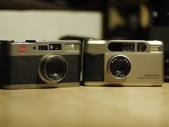 (contaxcontax) Tags: leica contax cm t2 35mm film ps point shoots