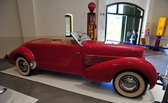 Cord 810 Convertible (D70) Tags: franschhoek motor museum v8 lycoming side valves 4729cc 125bhp 3500 rpm 4 spd electric preselector front wheel drive hydraulic brakes all round independent suspension cord 810 convertible httpsyoutube5wvl02bjihy