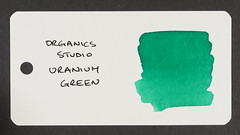 Organics Studio Uranium Green - Word Card