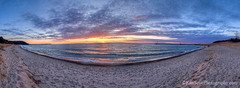 Lake Michigan ... Leland sunset, 4-26-15 (Ken Scott) Tags: sunset usa beach leland spring michigan lakemichigan greatlakes april freshwater leelanau 2015 45thparallel fhdr kenscottphotography kenscottphotographycom
