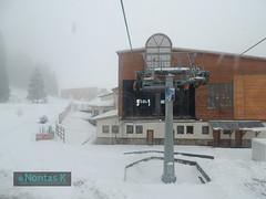 7 / Bansko cable car system (Nontas K) Tags: winter mountain snow december village bulgaria cablecar transports bansko teleferique  skicenter 2013           nontask