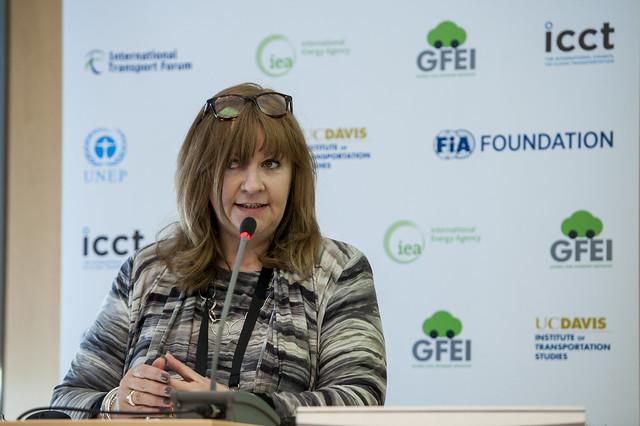 Sheila Watson speaking