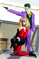 Joker Harley Quinn (SandroSebastiani) Tags: cosplay batman joker cosplayer harleyquinn romics romics2015aprile