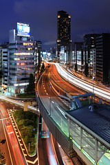 Tokyo Highways 9576 (kbaranowski) Tags: longexposure urban japan vertical skyline architecture modern night speed skyscraper outdoors photography tokyo cityscape citylife tranquility nopeople illuminated transportation nippon japaneseculture touristattraction nihon urbanlandscape tokio ontheway twillight lighttrail roadtraffic urbanstreet urbanstreets capitalcities famousplace buildingexterior touristdestination elevatedview elevatedhighways krzysztofbaranowski 2016krzysztofbaranowski