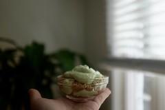 DSCF3446 (Jolene Jiang) Tags: summer ny dessert baking cheesecake homemade crepe sweets fujifilm matcha greentea amateur creampuff
