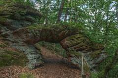 Stone Arch near Pirmasens, Germany (Kasimir) Tags: pirmasens palatinate pfalzwald pfalz germany wandern hdr canon1100d luminance