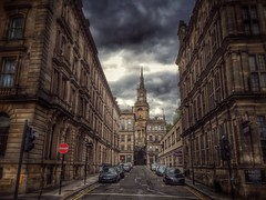 HDR journeys  (|| Rehnumah Insan ||) Tags: england dark urban cityscape city travel gothic hdr newcastle buildings architecture