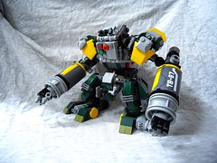 """Lego - MOC - """"Two Punches"""" (TB-87) (c_s417) Tags: lego moc mech punch punches robot tech solider army foitsop"""