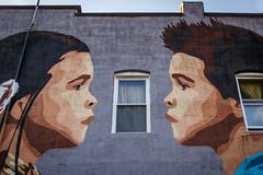 """For the Bear"" (Karol A Olson) Tags: mural forthebear deal99 greggdeal art streetart jul16 highlandtown"