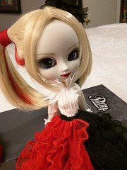 Harley Dress Version again (Kyubi09) Tags: pullip doll groove harleyquinn harley elegant gown dress clown