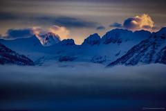 Mount Grinnell (Explored) (steve rubin-writer) Tags: park sunset sun sunlight snow sunrise wow us montana glacier explore explored