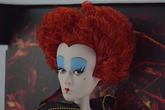 Iracebeth The Red Queen Limited Edition 17'' Doll - Alice Through the Looking Glass - Disney Store Purchase - Deboxing - Covers Removed - Closeup Right Front View #3 (drj1828) Tags: iracebeth alicethroughthelookingglass limitededition us disneystore doll 17inch purchase liveactionfilm theredqueen deboxing