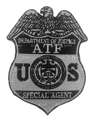 ATF Subdued Special Agent Badge Patch (Patch Collector) Tags: katrina team 5 hurricane police special alcohol camouflage badge agent technician patch bomb federal tobacco explosives k9 response instructor gman firearms srt bullion atf investigator subdued