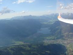 Zell am See im Schatten (Roland Henz) Tags: fliegen segelfliegen segelflug unterwssen dassu 2016 10072016 zellamsee zellersee