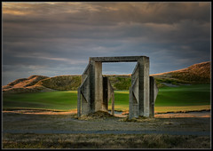 Chamber's Bay Remnant (Ernie Misner) Tags: golf washington nik tacoma lightroom f8andbethere chambersbaygolfcourse chambersbay capturenx2 erniemisner