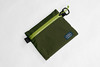 Flat Pouch Green 01 (Imagery Bags) Tags: zipper ykk waterresistant flatpouch drypouch