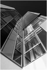 /I\ (Pascal.M (bong.13)) Tags: marseilles architecture noiretblanc blackandwhite moderne monochrome reflet reflexion france provence bouchesdurhone sonyrx100 street